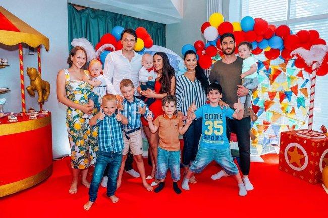 Катя Колисниченко отпраздновала первый День рождения своего сына Савы
