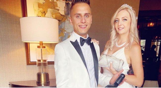 Антон Шоки женился на своей беременной невесте
