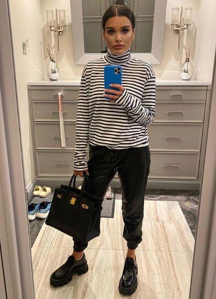 Ксения Бородина рассказала, как выбирает одежду