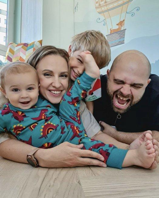 Счастливая семья Ольги и Ильи Гажиенко