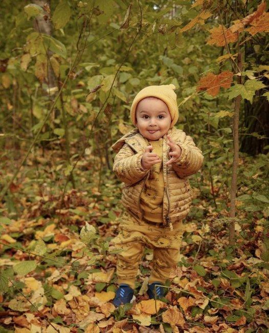 Осенняя прогулка семьи Гажиенко