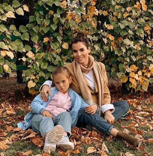 У Александры Гозиас были интересные выходные с семьей