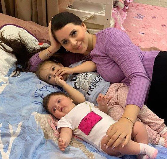 Ольга Рапунцель считает огромным счастьем быть мамой двух дочек