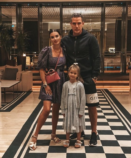 Ксения Бородина с семьей на отдыхе в Турции