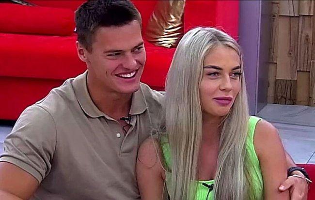 Катя Скалон флиртует с Женей Ромашовым