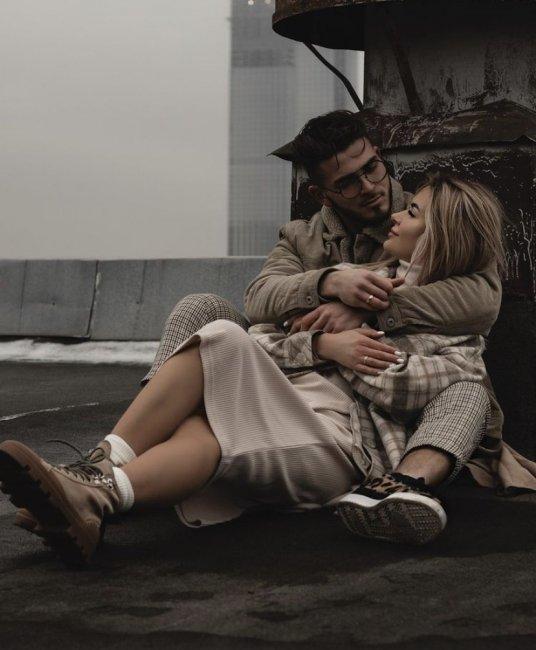 Безумно тёплая фотосессия Романа и Марины