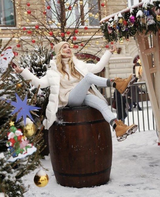 Новогодняя фотоссесия Андрея и Кристины Черкасовых