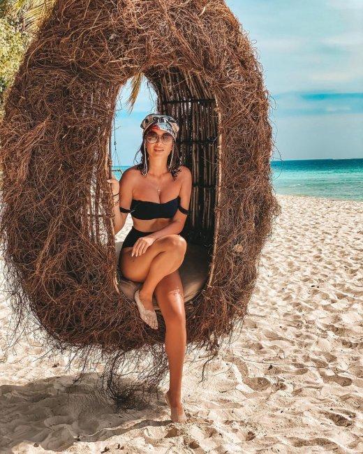 Фотоподборка с отдыха Ксении Бородиной на Мальдивах