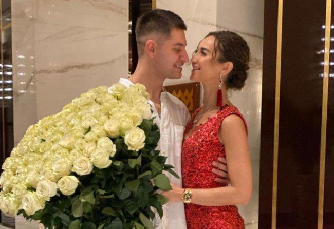 Давид Манукян поздравил свою возлюбленную Ольгу Бузову с Днем рождения