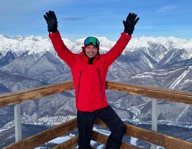 Андрей Черкасов рассказал, как он едва не разбился при неудачном спуске с горы