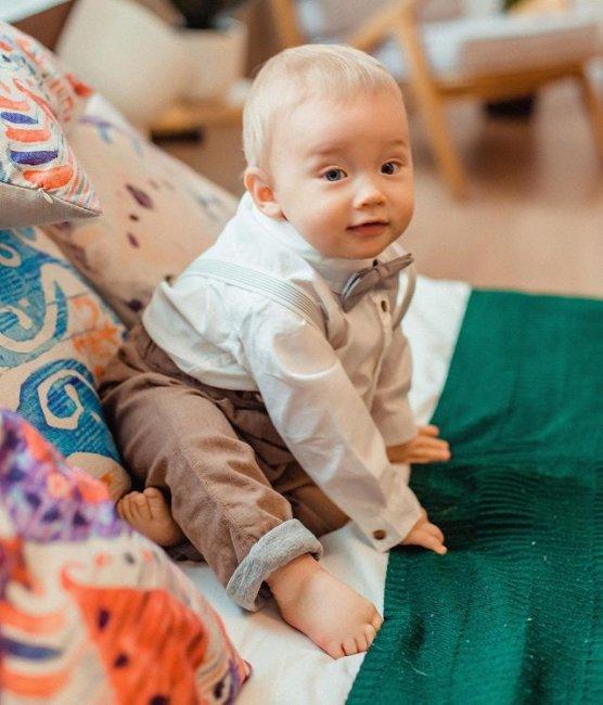Фотоссесия маленького красавца Святослава Черкасова