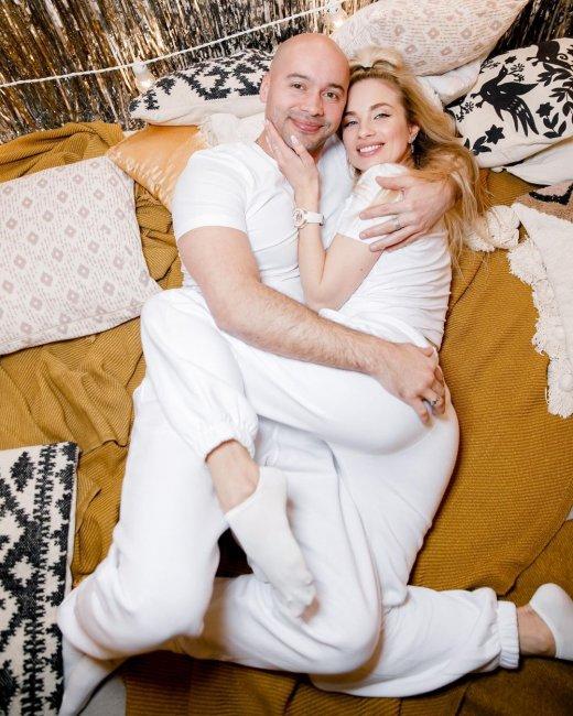 Красивая фотоссесия Кристины и Андрея Черкасовых
