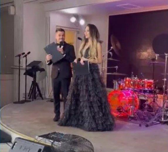 Илья Семин вышел в свет, сопровождая Алену Савкину