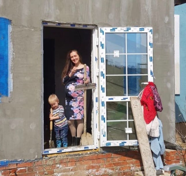 Мария Круглыхина: Сегодня побывали в нашем заброшенном доме