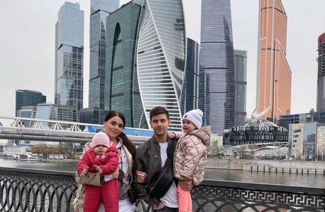 Дима Дмитренко весело провел время с Машей Кохно