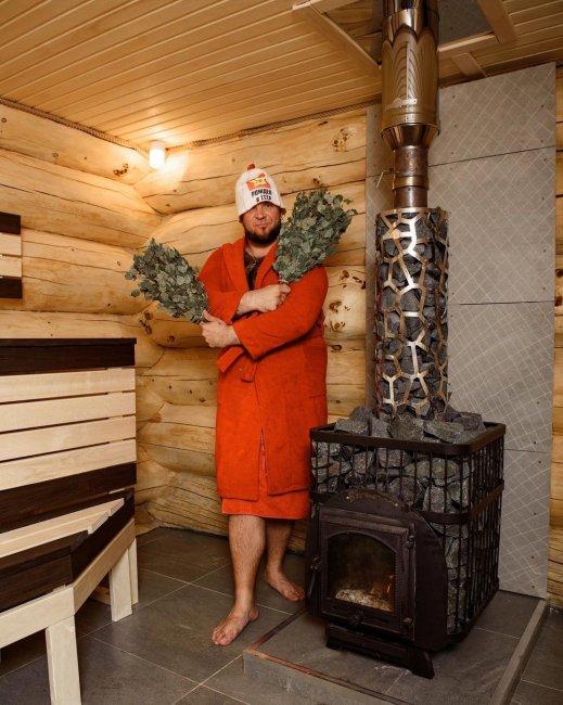 Фотоссесия участников «Дом 2» в бане