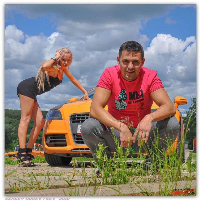 Красивая ретро-фотоссесия Сергея и Дарьи Пынзарь