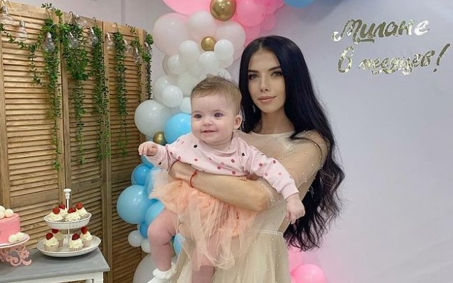 Дима Чайков побывал на дне рождения дочери Миланы