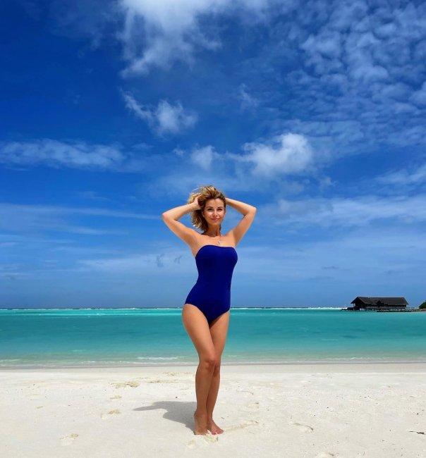 Фотоподборка Ольги Орловой с отдыха на Мальдивах