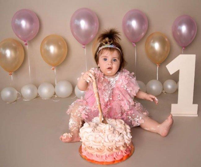 Ольга Рапунцель поздравила свою дочь Софию с Днем рождения