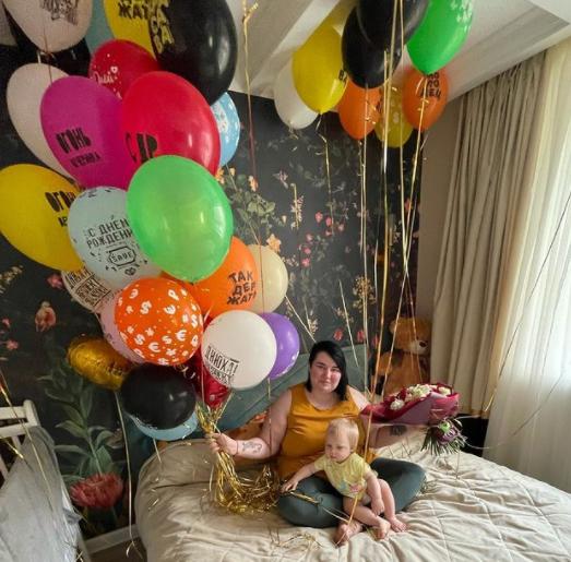 Саша Черно отметила свой день рождения